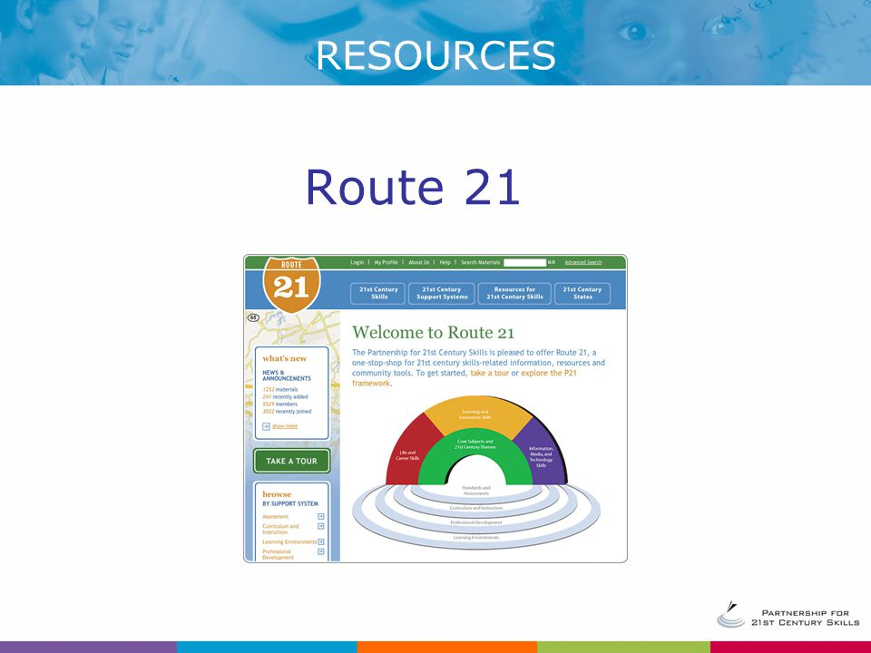 RESOURCES Route 21