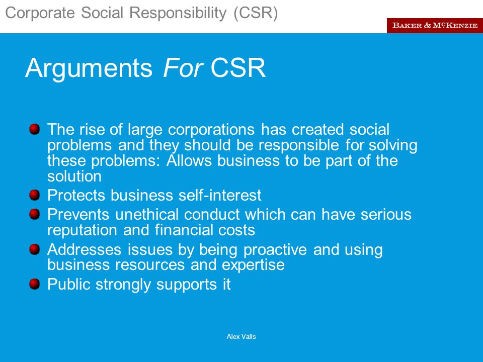 Arguments in Favour and Against Corporate Social Responsibility (CSR) | Management