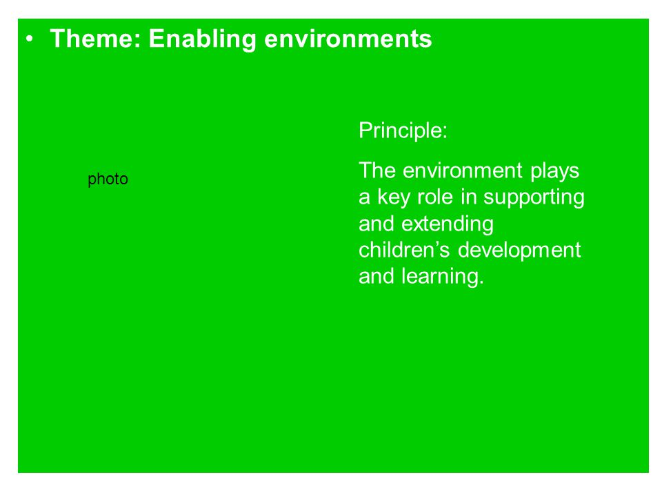 essay on how the environment plays a role in learning We explain the six aspects of the montessori prepared environment the outdoor environment and play the montessori teacher and her role: learning more about.