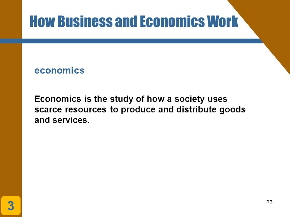 How Business and Economics Work