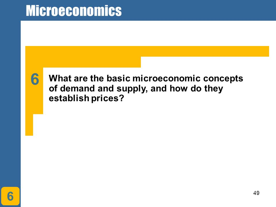 Microeconomics Chapter 1. Understanding Economic Systems and Business. 6.