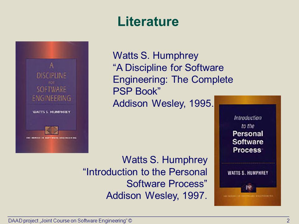 introduction to the personal software process pdf