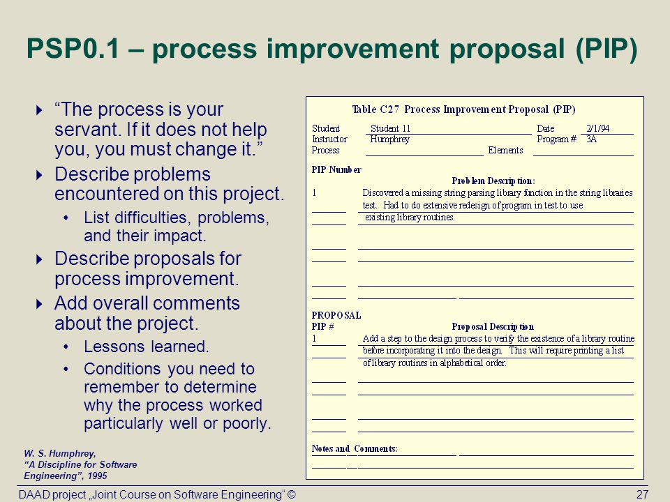 a proposal for process improvement Visualizing the proposal process will allow you to more easily develop process instructions and sell the process to others and management the first step is to define and map out the proposal process, as it is incorporated into your specific company or organization, using a graphic program.