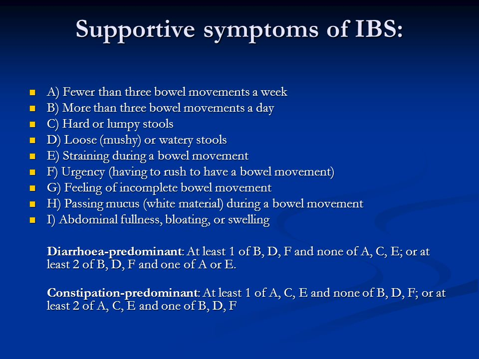 Irritable Bowel Syndrome Ppt Download