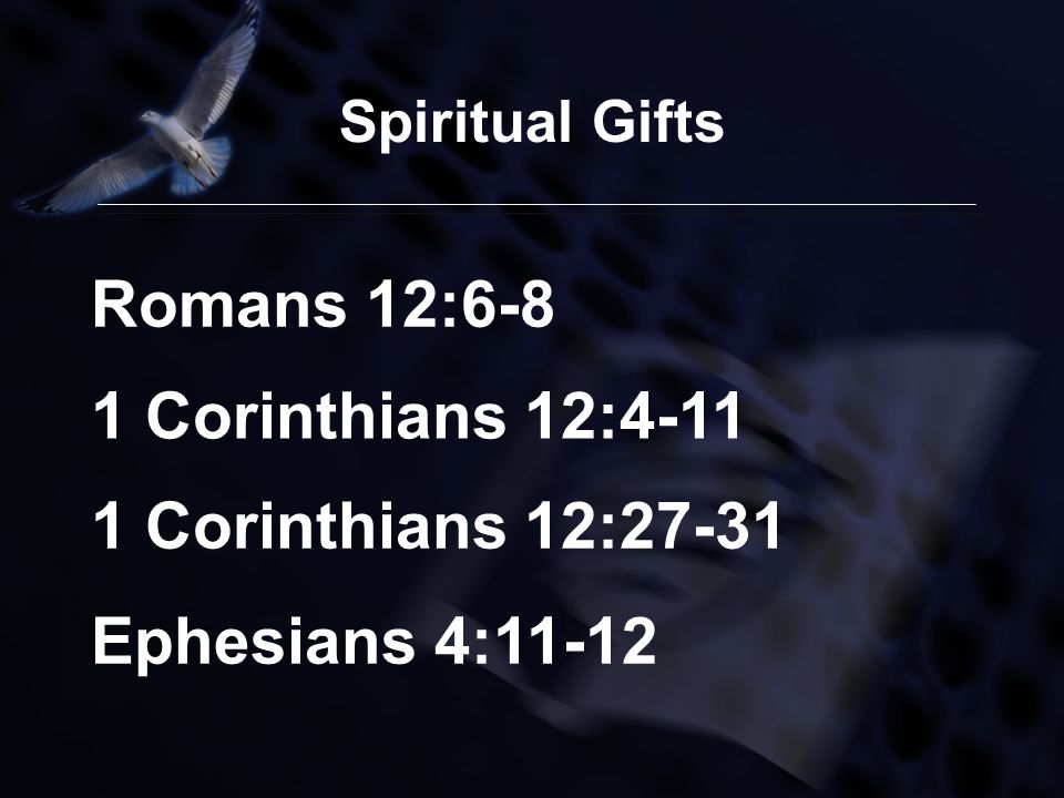 This Christmas Love 1 Corinthians 12 31: Spiritual Gifts Facilitated By Gerson P. Santos
