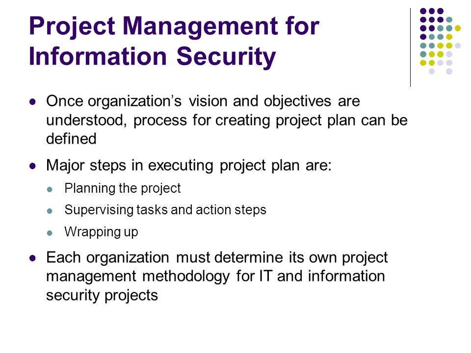 information security management plan Plan, do, check, act process across the life cycle of the security awareness and training programme s information security management system.