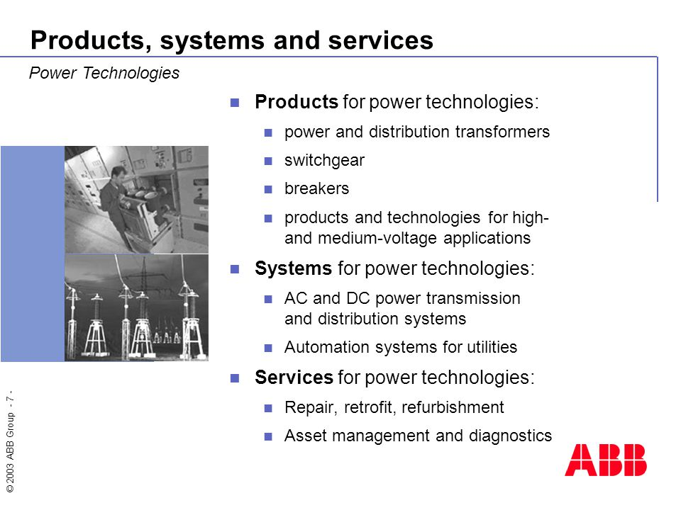 Introducing Abb Welcome To This General Overview Of Abb