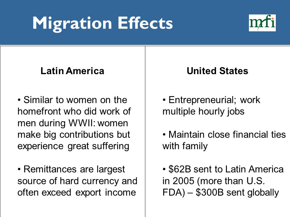 Migration Effects Latin America