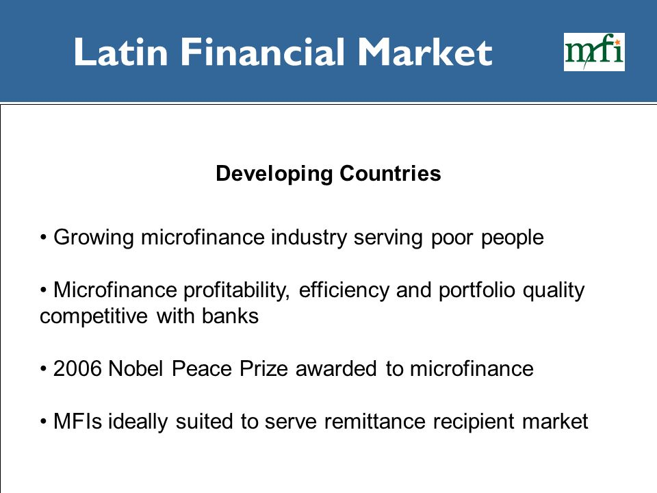 Latin Financial Market