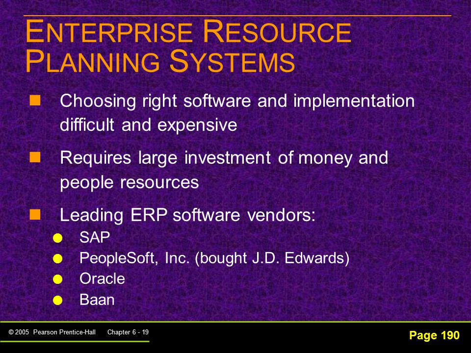 enterprise resource planning and software systems essay Enterprise resource planning (erp) is an industry term for the broad set of activities that help an organization manage its business an important goal of erp software is to integrate back office business processes and facilitate the flow of information within an organization so business decisions.