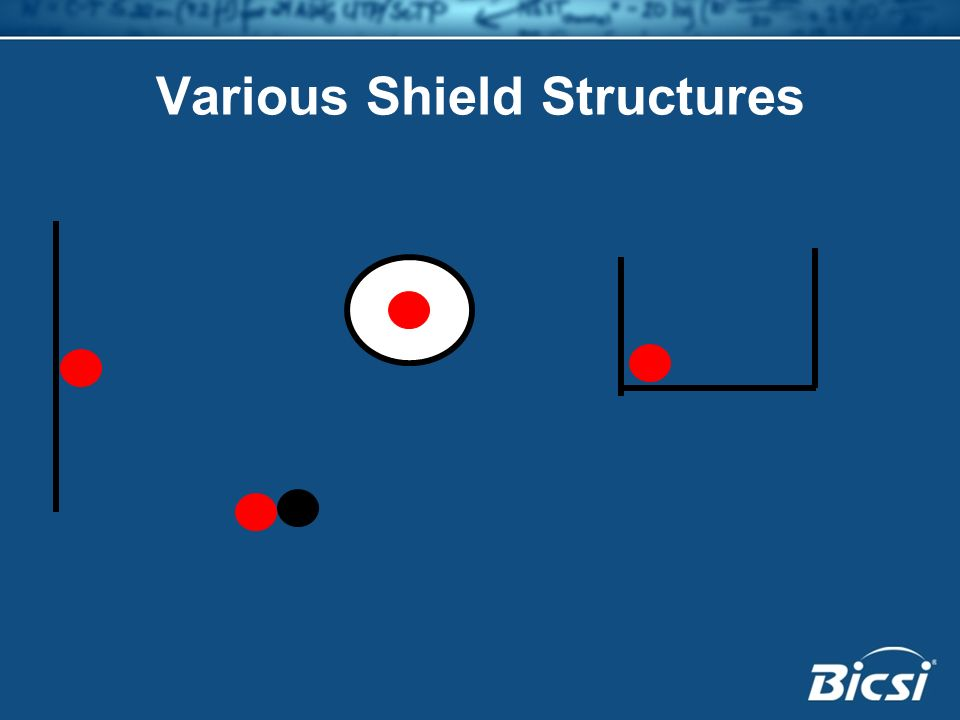 Various Shield Structures