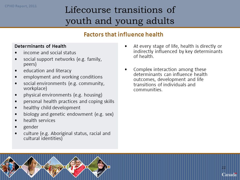 Lifecourse transitions of youth and young adults