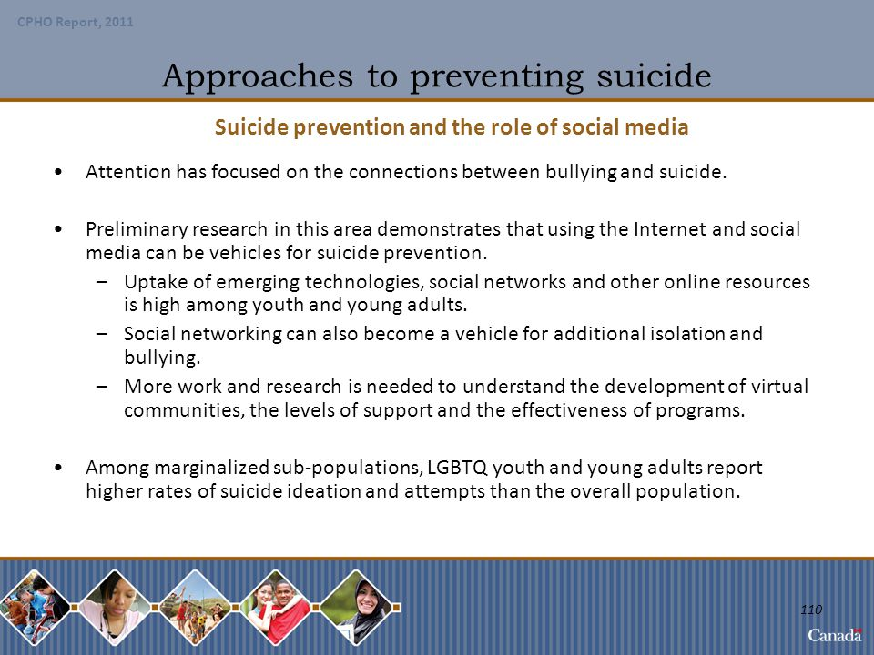 Approaches to preventing suicide
