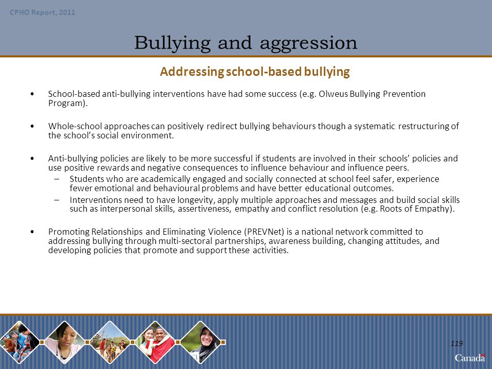 Bullying and aggression