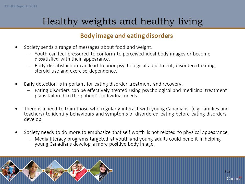 Healthy weights and healthy living