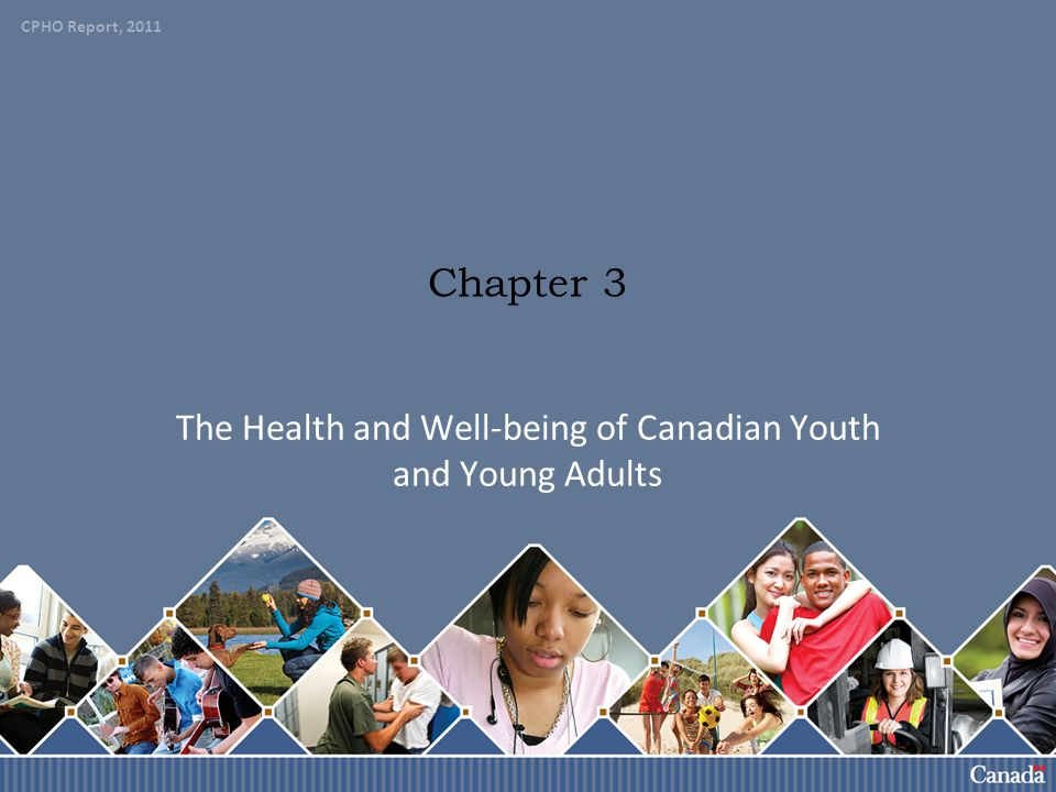 The Health and Well-being of Canadian Youth and Young Adults