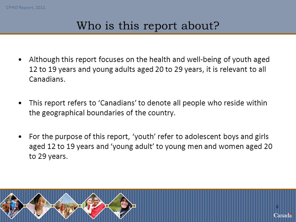 Who is this report about