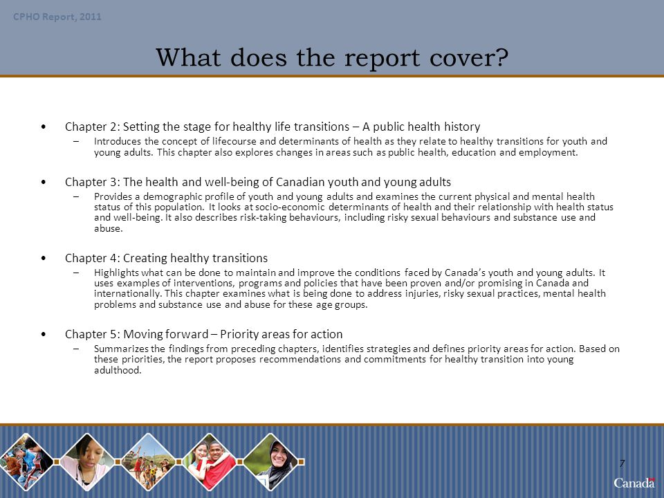 What does the report cover