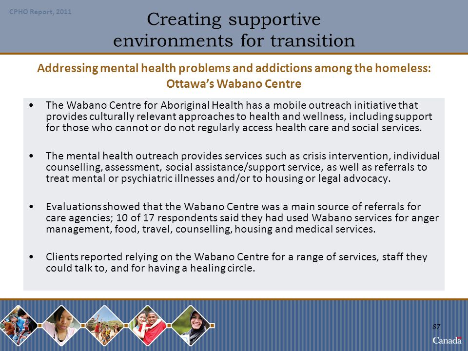 Creating supportive environments for transition