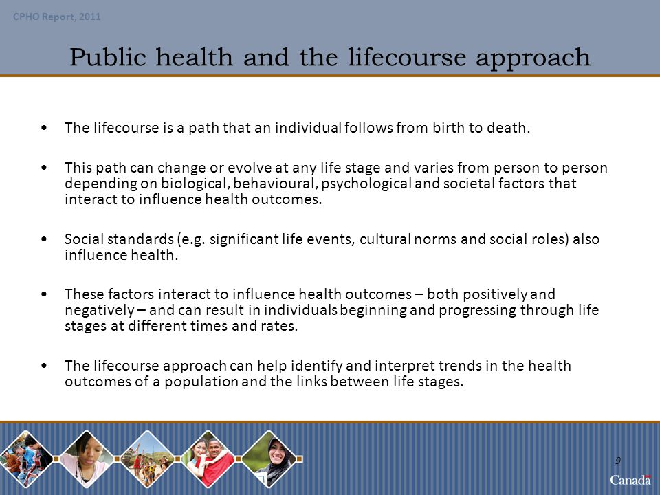 Public health and the lifecourse approach