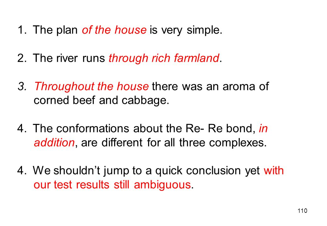 The plan of the house is very simple.