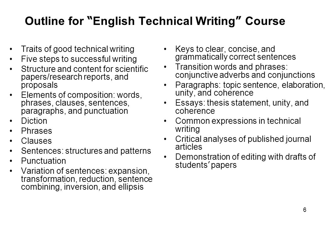nature and characteristics of technical writing Good writing is much more than just correct writing it's writing that responds directly to the interests and needs of our readers (skynesher/getty images) good writing is the result of a lot of practice and hard work this fact should encourage you: it means that the ability to write well is not a.