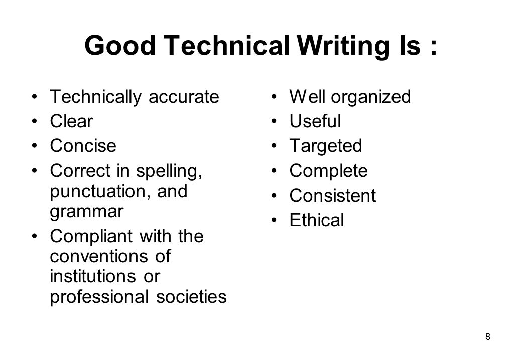 What makes a good technical writer great?