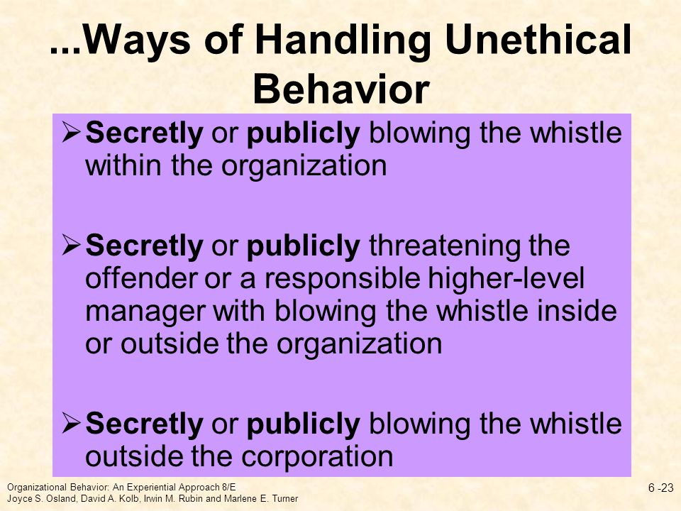 unethical behavior within human resources management Human resource management (hereafter, hrm) in promoting ethics is an  emerging research topic due to the heavy influence that hrm practices are  thought to.