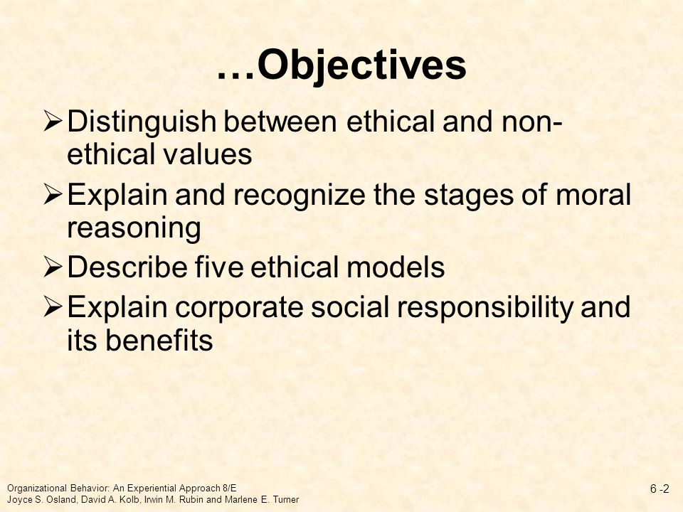 chapter 6 business ethics and ethical Chapter 2 business ethics and corporate social responsibility chapter objectives 1 explain the purpose of paying for whistleblowers 2 define ethics and describe sources of ethical guidance 3 discuss attempts at legislating ethics.