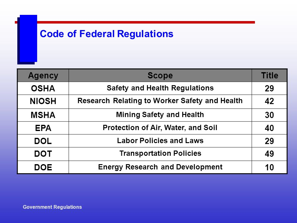 mine health and safety regulations pdf