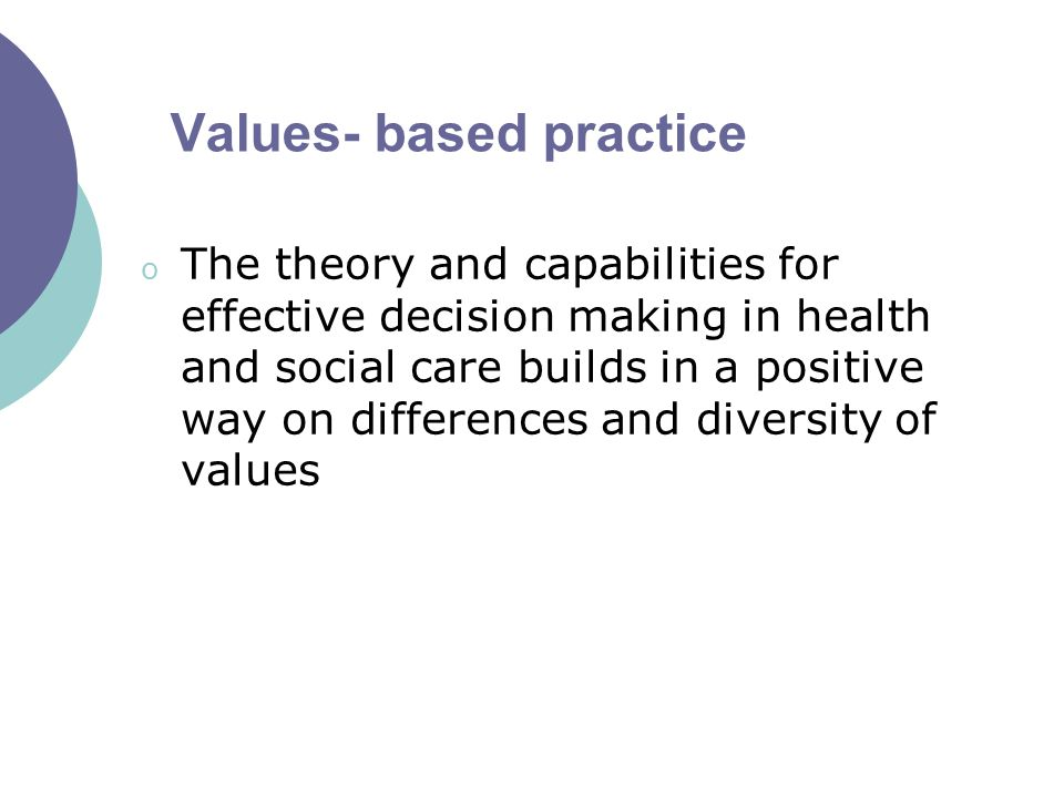 values in social care practice 5 complying with the laws and regulations governing your practice  in the first  instance, the health and social care professionals council at coru developed  a framework  the social work values informing this code are.