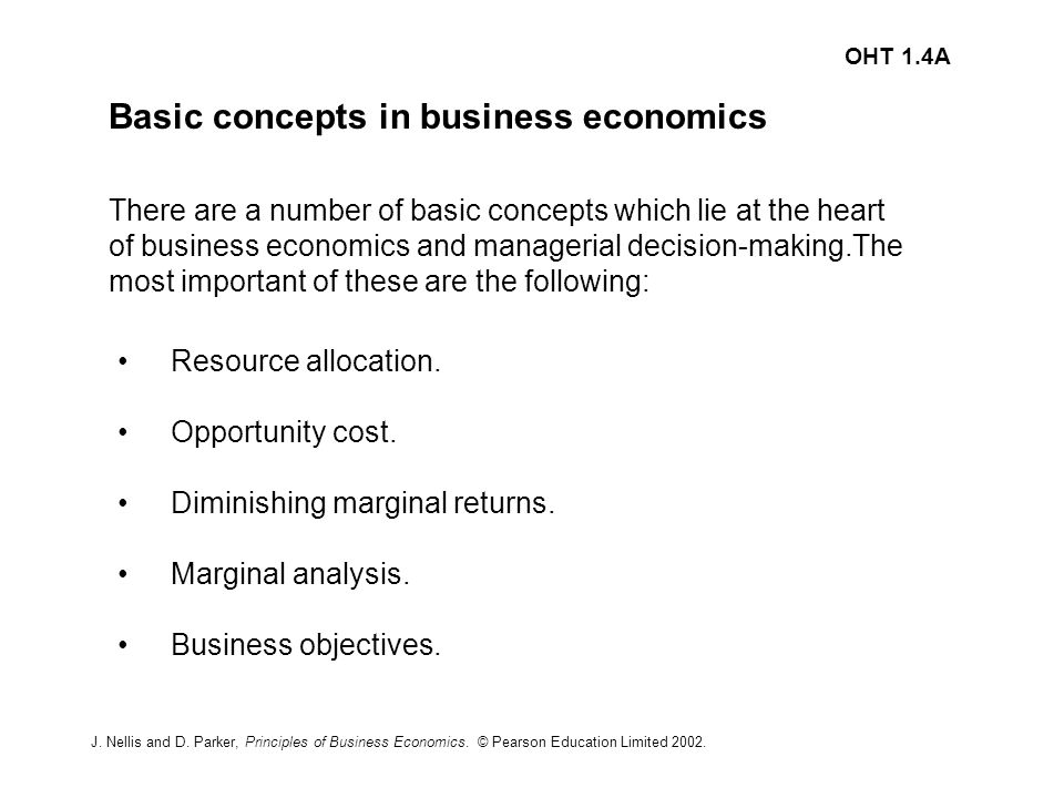 article analysis economic concepts and principles Basic economic principles economic theory offers a variety of concepts which can be of considerable assistance to the managers in decision-making practices these tools are helpful for managers in solving business-related problems.