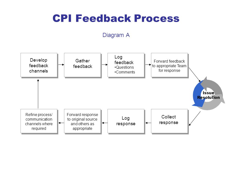 CPI Feedback Process Diagram A