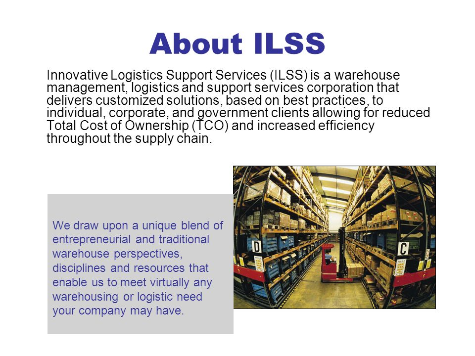 About ILSS