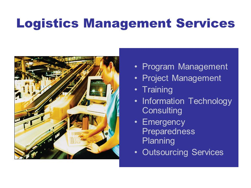 Logistics Management Services