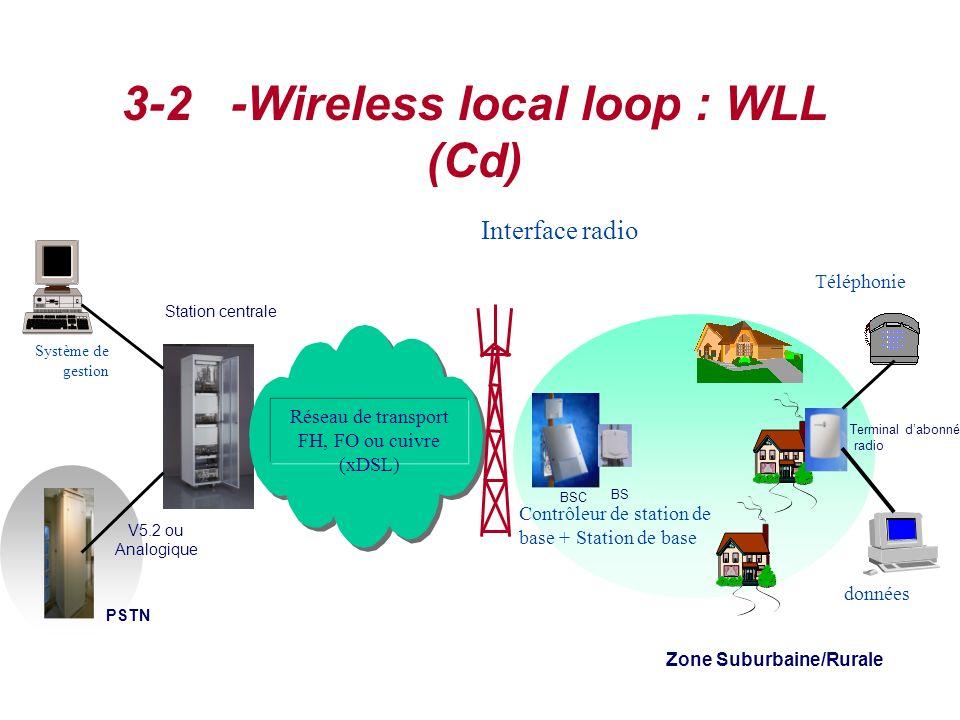 3-2 -Wireless local loop : WLL (Cd)