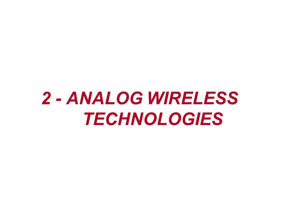 2 - ANALOG WIRELESS TECHNOLOGIES