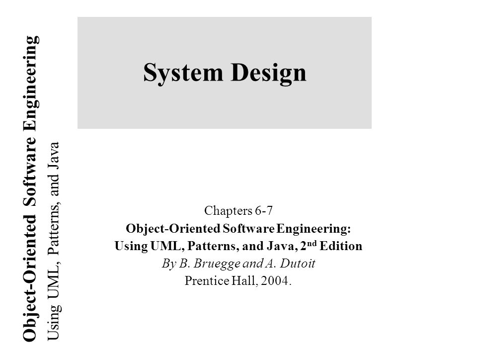 system design chapters 6