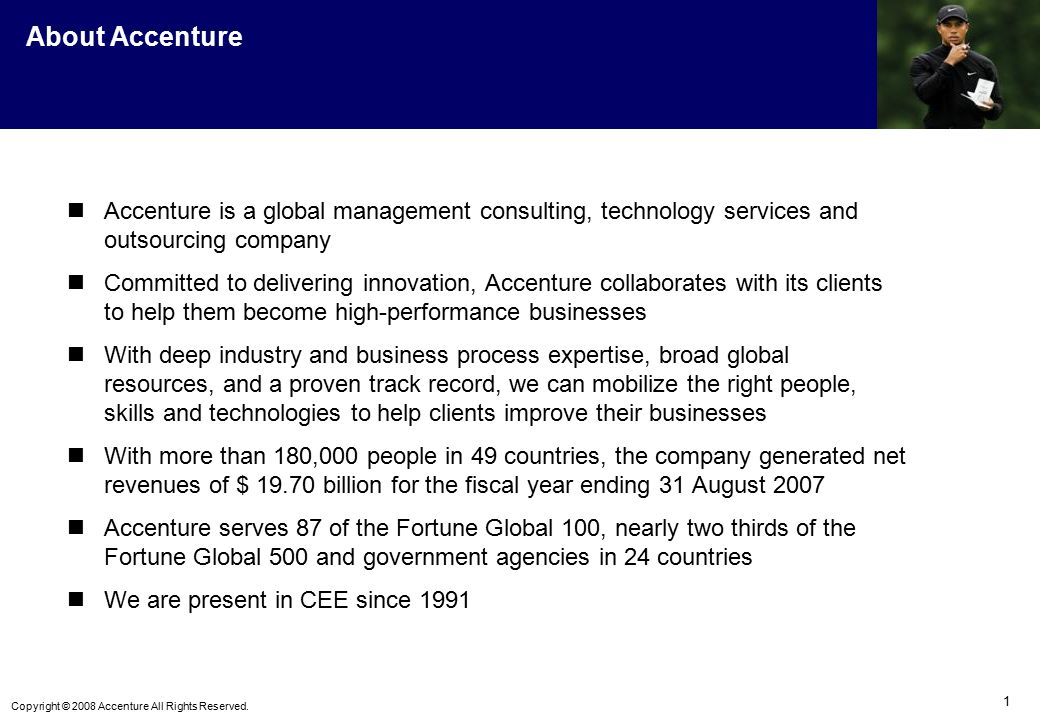 accenture an innovative and leading organization Avanade is the leading provider of innovative digital and cloud services, business solutions and design-led experiences delivered through the power of people and the microsoft ecosystem our professionals bring bold, fresh thinking combined with technology, business and industry expertise to help fuel transformation and growth for our clients .