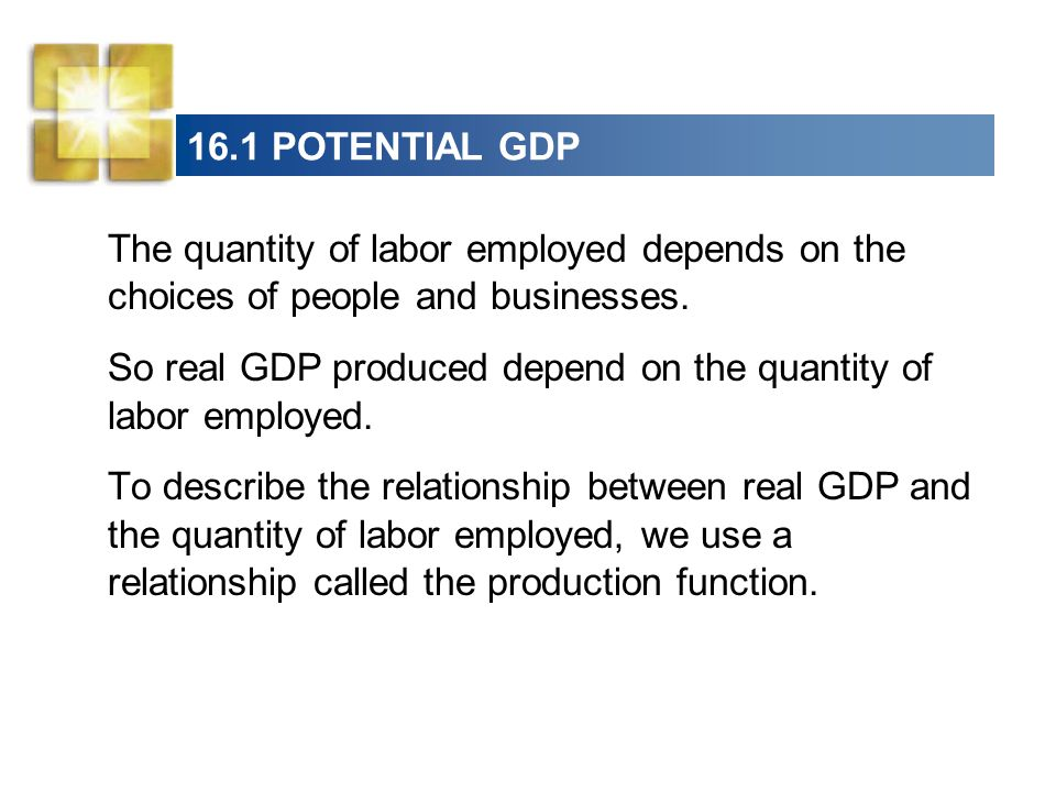 the production function is a relationship between amount of labor employed and