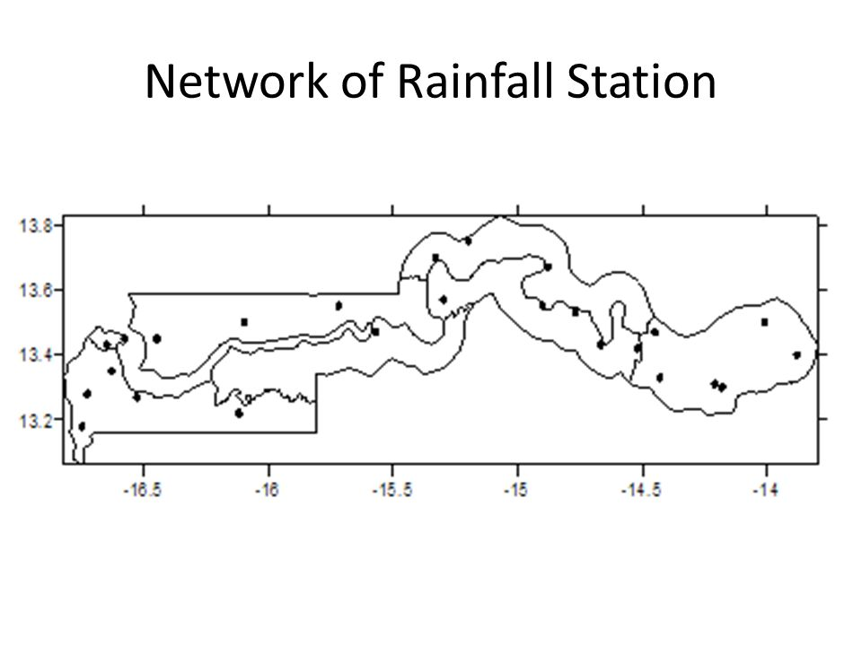 Network of Rainfall Station