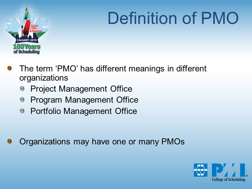 Building A Scheduling Center Of Excellence In The Pmo