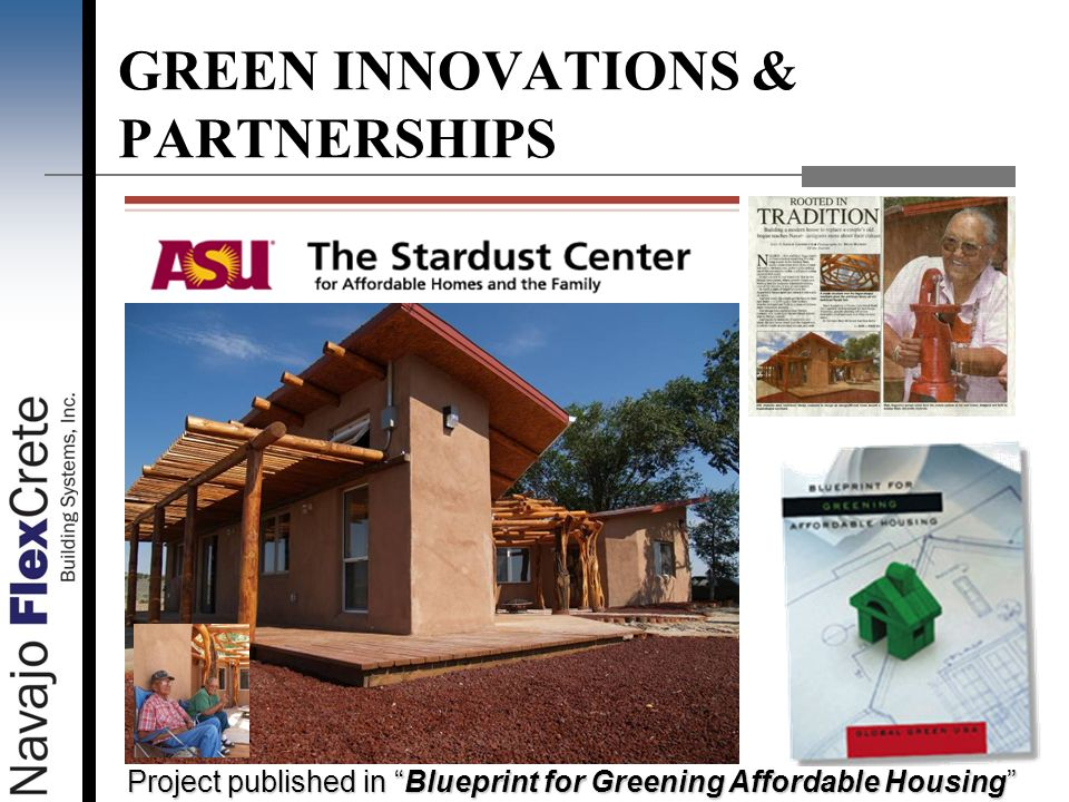 GREEN INNOVATIONS & PARTNERSHIPS