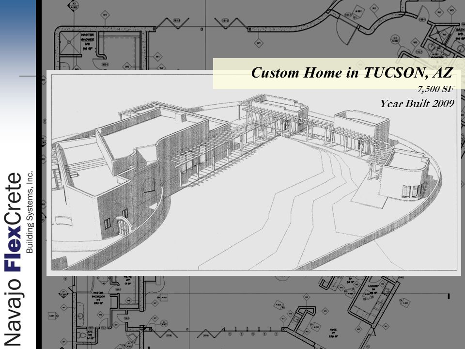 A subsidiary of the navajo housing authority ppt video for Custom home plans arizona