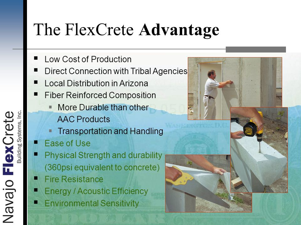 The FlexCrete Advantage