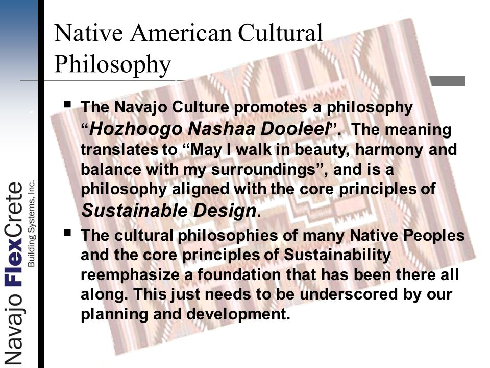Native American Cultural Philosophy