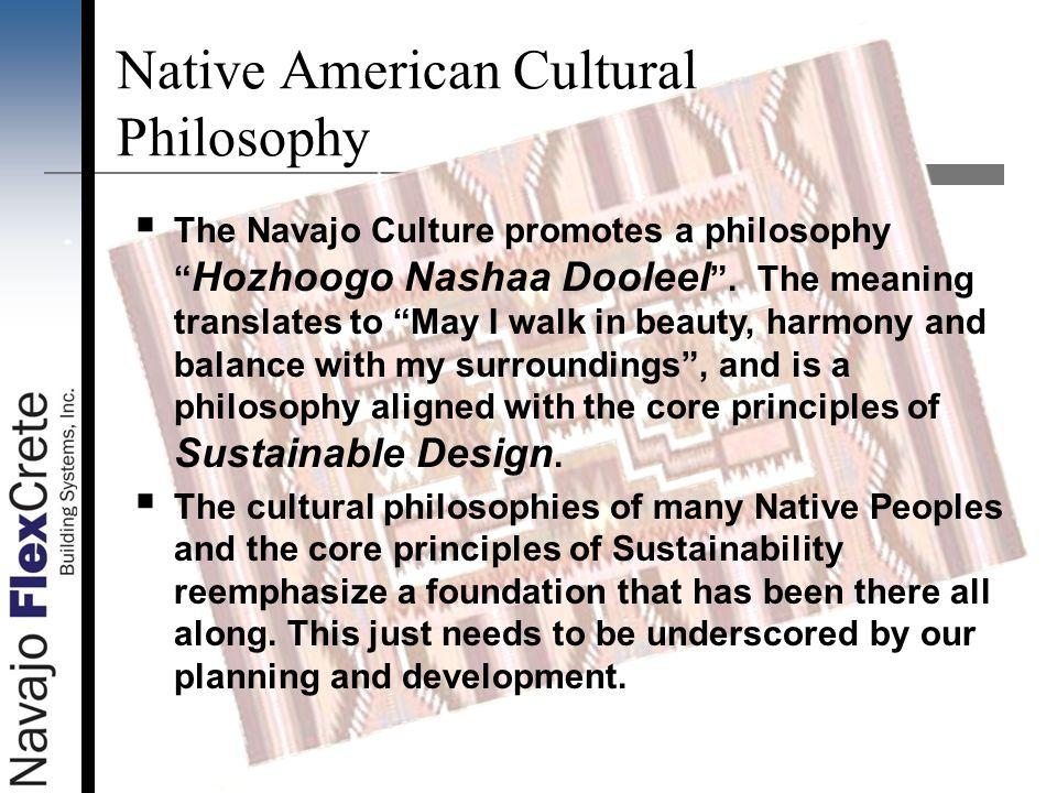 Native American Cultural Philosophy
