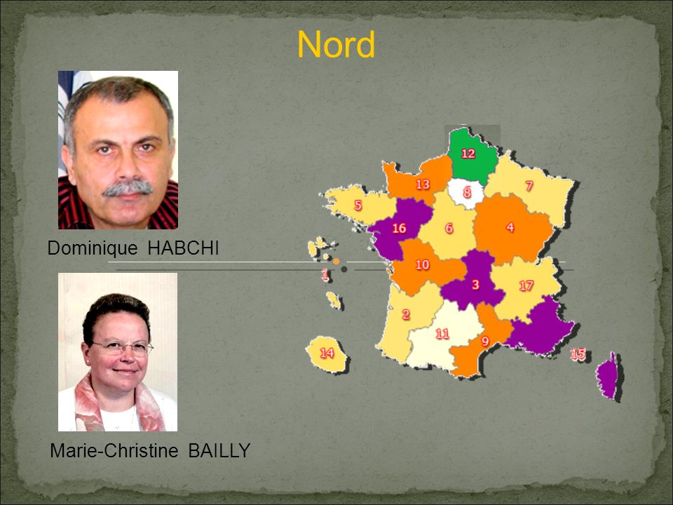 Nord Dominique HABCHI Marie-Christine BAILLY