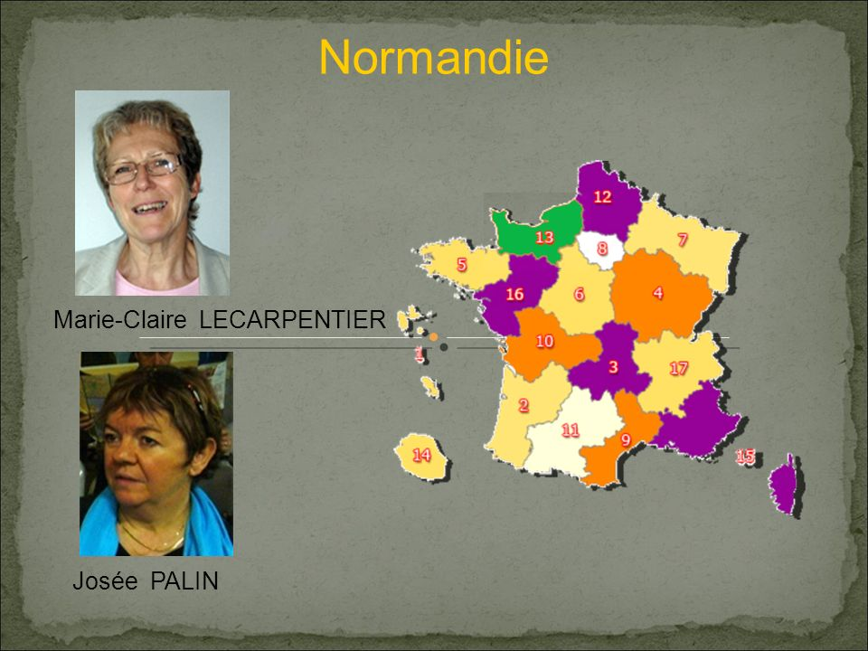Normandie Marie-Claire LECARPENTIER Josée PALIN