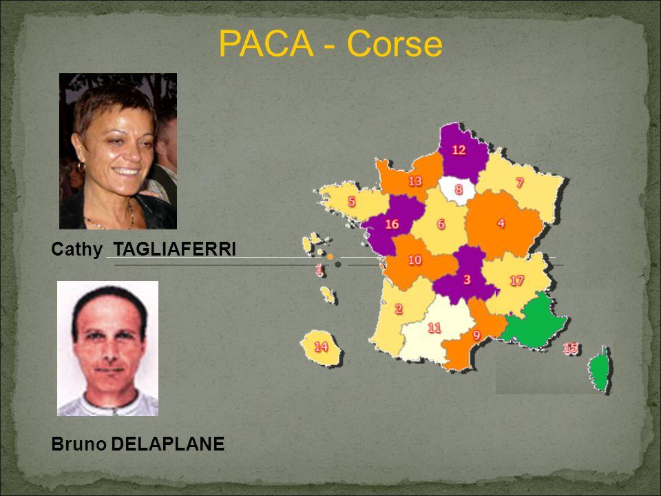PACA - Corse Cathy TAGLIAFERRI Bruno DELAPLANE